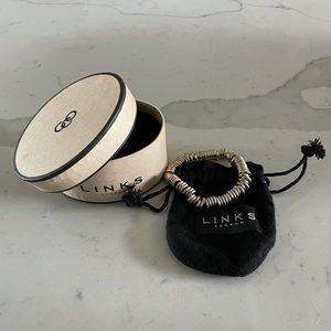 Authentic Links of London Silver Sweetie Bracelet